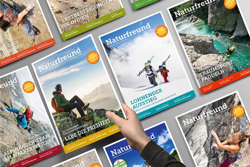 Naturfreund Titelseiten
